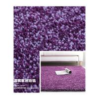 地毯卧室纯色床边现代客厅茶几毯加厚房间长方形长绒定制