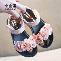 2019夏季新款儿童凉鞋女童公主鞋中大童韩版软底时尚宝宝鞋