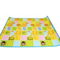 玩具开学季费雪宝宝爬行垫婴儿游戏垫双面厚地毯BMF20 环保可折叠客厅家用 BMF20 150CM*200CM*1CM