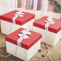 礼物包装盒大号正方形礼品盒礼物包装盒超大伴手礼礼物盒生日*盒包装盒子