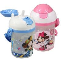 迪士尼 Disney  米菲 叮当猫 哆啦a梦 350ML儿童硬吸管水壶 防漏宝宝水壶 卡通儿童吸管水杯 米妮 黄维尼 红车 史迪仔