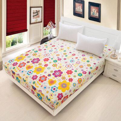 床笠单件纯棉床单防尘床套1.2m1.5米1.8床垫席梦思保护套床罩定制   定制商品(定金)下单前请咨询客服,定制商品以咨询客服为准。否则本店有权不发货。