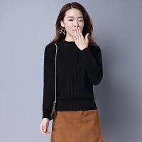 打底毛衣女2018新款衫短款加厚款羊绒秋冬季修身针织低领套头