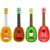 【随机1只装或订单留言备注】宝宝儿童益智乐器玩具吉他批发水果吉他迷你可弹奏尤克里里小号