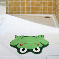 DADA大达卡通青蛙地垫 可爱 儿童垫 门垫 脚垫 浴室防滑垫 地毯