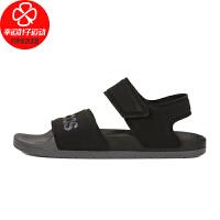 Adidas/阿迪达斯男鞋女鞋新款舒适轻便沙滩鞋耐磨透气魔术贴凉鞋FY8649