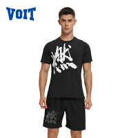 沃特燃运动T恤男装夏季跑步半袖上衣透气快干t恤男短袖健身T个性