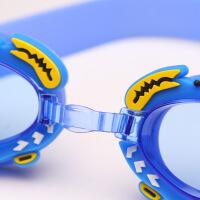 宝宝男女孩游泳眼镜儿童游泳镜男童透明泳镜泳帽套装