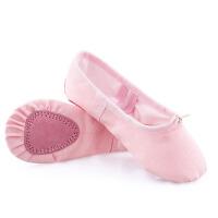 儿童舞蹈鞋女软底练功鞋成人芭蕾舞鞋民族跳舞形体鞋猫爪鞋