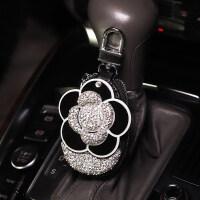 【品牌特惠】车载汽车用钥匙包可爱汽车钥匙套创意镶钻女士通用保护遥控套