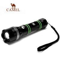 camel骆驼户外手电筒 强光远射变焦充电手电筒 露营迷你铝合金手电筒