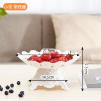 欧式多层水果盘创意时尚三层蛋糕架塑料双层果盆果篮现代客厅家用
