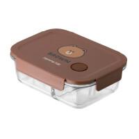 九阳(Joyoung)Line耐热玻璃保鲜盒微波炉加热饭盒密封碗便当餐盒水果盒布朗熊1024ml