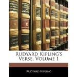 【预订】Rudyard Kipling's Verse, Volume 1