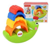 费雪(Fisher Price) 小鳄鱼叠叠乐婴幼儿童宝宝早教层层叠叠高玩具1-3岁 费雪小鳄鱼叠叠乐CDC48