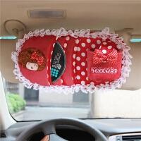 卡通汽车cd夹遮阳板套多功能车用光盘碟片车载cd包用品