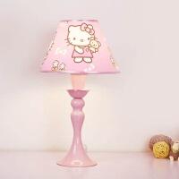 【品牌特惠】儿童房台灯粉色少女孩公主房卧室卡通可爱床头灯