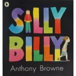 英文原版绘本 Silly Billy 傻比傻利 Anthony Browne 安东尼布朗 名家作品