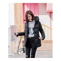 棉袄女新款韩版学生冬季中长款加厚棉衣外套女士棉衣服