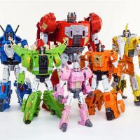 变形玩具金刚5机器恐龙钢索天之力放大版合金五合体现货
