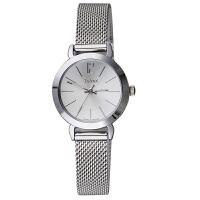 聚利时Julius 韩国时尚复古简约女式皮带手表 钢带时装表 石英表JA-732