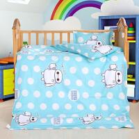 幼儿园被子三件套含芯儿童被子婴幼床品全棉被褥宝宝午睡被六件套