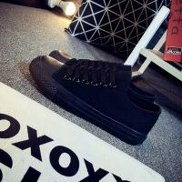 球鞋新款小白帆布女鞋秋季板鞋网红韩版百搭学生火布鞋