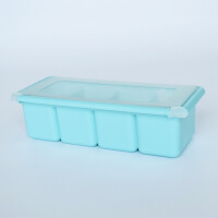 放盐味精的调料小盒 北欧色调味盒塑料罐套装厨房罐调料罐调味料盒家用佐料味精收纳盒Cg