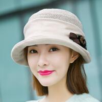 帽子女秋冬天韩版时尚渔夫帽盆帽保暖毛呢帽百搭贝雷帽针织毛线帽