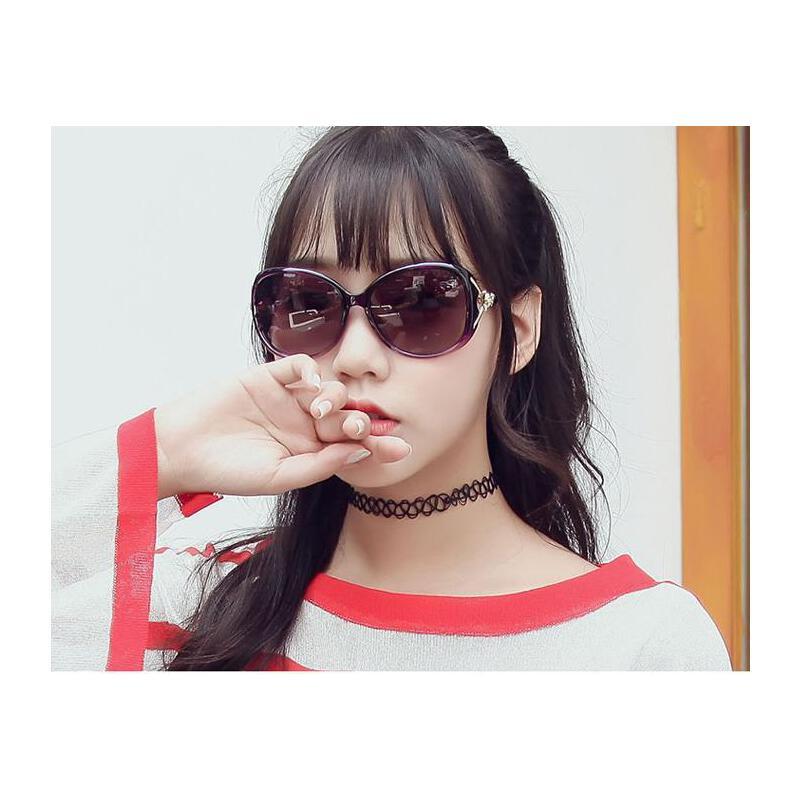 墨镜女潮偏光太阳镜女士圆脸长脸显瘦个性太阳镜防紫外线