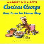 Curious George Goes to an Ice cream Shop好奇的乔治去冰激凌店 9780395519370