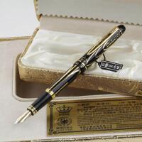 德国公爵金笔 世纪先锋8K金美工钢笔 书法弯头钢笔