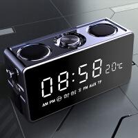 索爱 S 18无线蓝牙音箱超重低音小钢炮迷你手机闹钟小音响家用 官方标配
