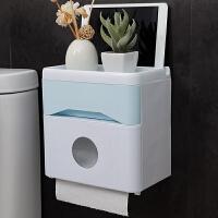 多功能卫生间纸巾盒厕所卷纸抽纸盒纸巾架纸巾收纳盒免打孔置物架