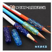 日本太阳星 SUN-STAR 铅笔握笔器 防疲劳防滑握手 菱形花纹 5枚装