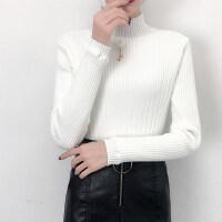 保暖打底衫女加厚加绒学生长袖百搭韩版秋冬新款内搭半高领毛衣女