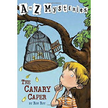 The Canary Caper (A to Z 3) 神秘事件3:金丝雀 ISBN 9780679885931