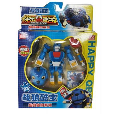 快乐酷宝2玩具可动版战狼白天鹅酷宝512005 蛙王猩猩狮王 512001