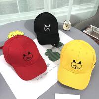 儿童遮阳帽春秋季韩版鸭舌帽女童男童棒球帽太阳帽宝宝帽子