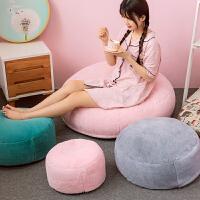 坐垫夏季可拆洗地毯坐垫地上卧室地板垫子久坐不累懒人透气屁垫软