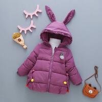 女童棉衣2018新款冬装儿童装棉袄宝宝羽绒冬季洋气卡通外套