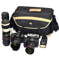 大容量大号单反相机包摄像机包单肩双肩两用摄影包A36L
