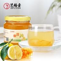艺福堂花草茶 茶食品 冲调饮品 蜂蜜柚子 蜜丝柚蜜炼柚子600g罐装