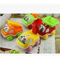 Q版卡通惯性车工程玩具车回力车工程车儿童玩具车玩具抖音 款式随机