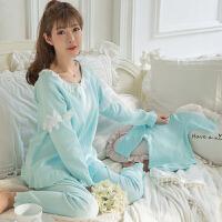 哺乳睡衣秋季舒适韩版月子服产后喂奶衣孕妇可外穿宽松家居服ZT-08
