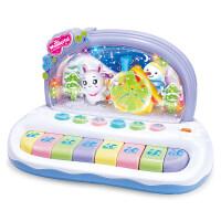 儿童电子琴0-3岁宝宝声光音乐雪花小钢琴婴幼儿玩具早教 紫罗兰