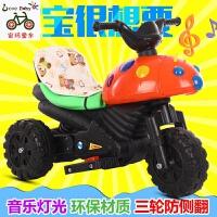 甲壳虫儿童玩具车可坐人充电摩托电瓶遥控电动车可以骑的男孩0-3