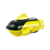 无线遥控快艇防水鱼缸玩具迷你遥控潜水艇航海模型儿童电动遥控船 官方标配
