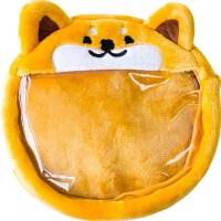 柴犬痛包小柯基周边透明玩偶包BJD外出包动漫20cm娃包