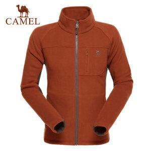 camel骆驼户外抓绒衣 男冲锋衣内胆摇粒绒开衫保暖外套冬